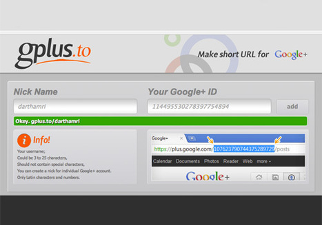 How to Customize Google Plus URL [Quicktip] | Social Media Intellect | Scoop.it