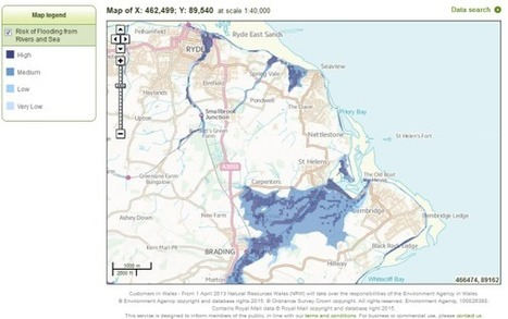 Risk of Flooding from Rivers and Sea Dataset Released as Open Data | Geoprocessing | Scoop.it