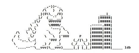 Gojira ASCII Art | ASCII Art | Scoop.it