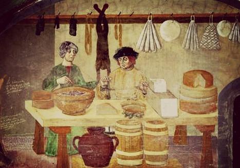 Italian Food History: Formaggio di Fossa and Ciauscolo | Le Marche and Food | Scoop.it