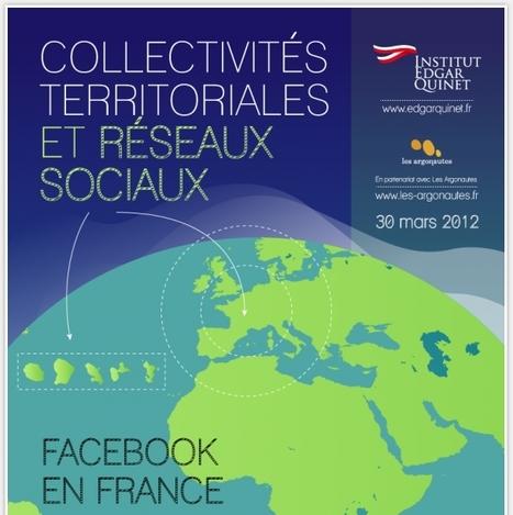 [infographie] Collectivités Territoriales et Réseaux Sociaux | Social Media Curation par Mon Habitat Web | Scoop.it