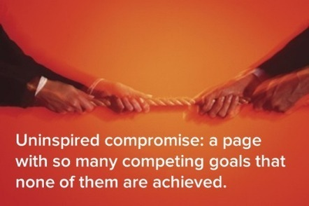 Don't Let Uninspired Compromise Ruin Your Homepage | Resource Library | Scoop.it