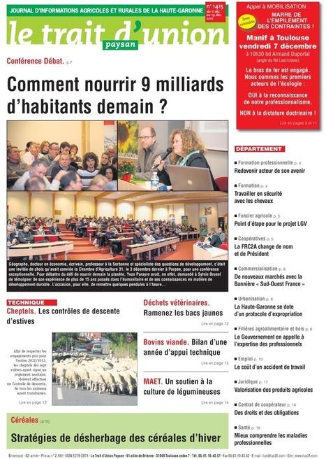 BLÉ TENDRE : EXPORT EN HAUSSE DE 430.000 T. | impotation des céréale | Scoop.it