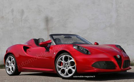 Alfa Romeo 4C Spider - Tradition ravivée - Actualités - L'Automobile Magazine | Buzz Actu - Top news on the web ! | Scoop.it