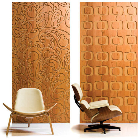 Carved Wallpaper:  Iconic Panels by B+N | No.113 Branding | Scoop.it