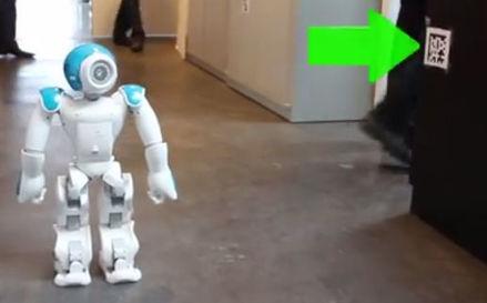 Robot Navigation Made Easy With QR Codes | Robotics | Scoop.it