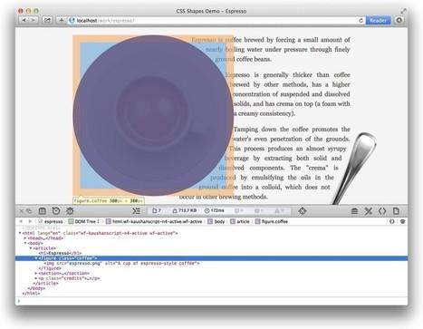 CSS Shapes Editor for Brackets | Web Platform Team Blog | Et si c'était vrai.... | Scoop.it