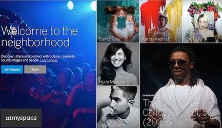 New Myspace Officially Launches, Moves Out of Beta, Adds Mobile App | E-Music ! | Scoop.it