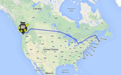 Le robot auto-stoppeur HitchBot a bien traversé le Canada ! | Libertés Numériques | Scoop.it