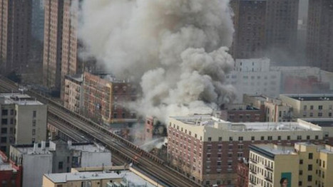 Is There a Drone Flying Around the Harlem Building Collapse? (Updated) - Gizmodo | Gov & Law- Tyler Coble | Scoop.it