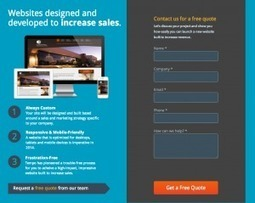 » Anatomy of a landing page for lead generation | Web Design, Web Develompent & SEO | Scoop.it