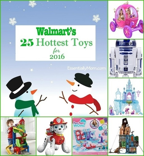 Walmart's 25 Hottest Toys for 2016 | Health and Fitness | Scoop.it