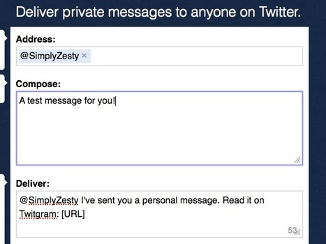 """New app allows you to send anyone a private message on Twitter 