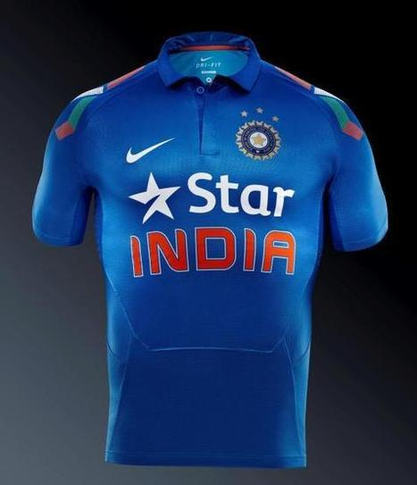 India new Dress for T20 World Cup 2014 | Googly Mania | Scoop.it