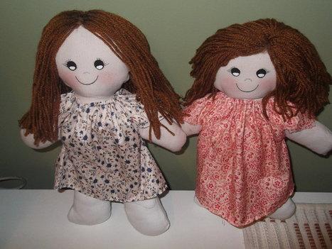 Recuerdos de nuestra infancia: Pasos para hacer tus propias muñecas de trapo | Manualidades ''Faciles de hacer'' | Scoop.it
