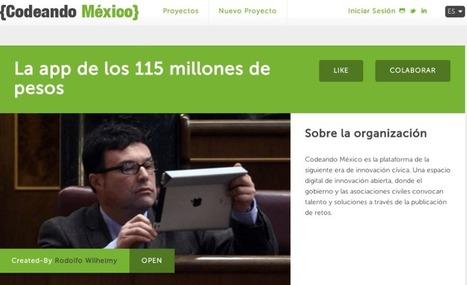 CASO: APP 115- MÉXICO | Cooperación en red | Scoop.it