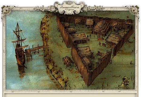 Jamestown - Interactive - National Geographic Magazine | History, Geography and new technologies | Scoop.it