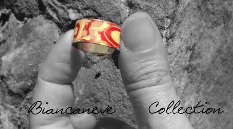 Biancaneve collection: LAMINA DI FERRO-SILICIO DI UN VECCHIO TRASFORMATORE+SMALTI PER UNGHIE COLORATI= ANELLO A FASCETTA REGOLABILE!!!! | biancanevecollection | Scoop.it