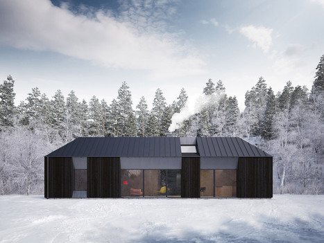 'Tind' Prefab Houses by Stockholm-based Design Studio Claesson Koivisto Rune | sustainable architecture | Scoop.it