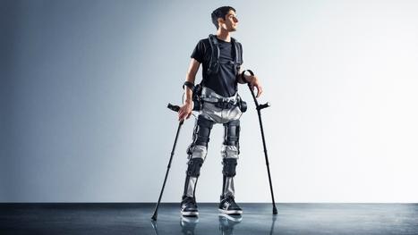 Paralysé, il remarche grâce à un exosquelette | Chair et Métal - L'Humanité augmentée | Scoop.it