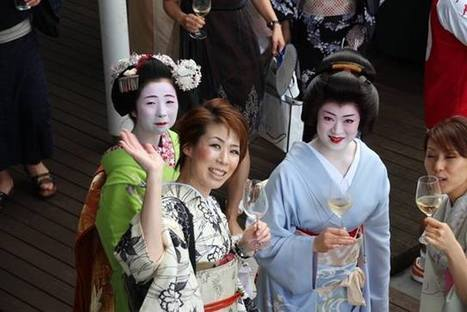 Japanese women are considered the most important Champagne consumers | Champagne.Media | Scoop.it