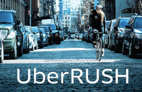 Uber Rush Is Using Bike Messengers for Fast One-Hour Deliveries - Bicycling | MOBILITY | Scoop.it