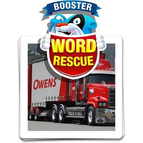 Word Rescue Vehicles learning game | English-Attack! Thailand | Scoop.it