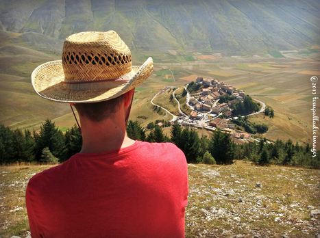 """The Palladian Traveler"" visits the Sibillini Mountains 