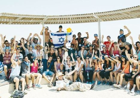 Birthright invades Tel Aviv for Sweet 16 | Jewish Education Around the World | Scoop.it