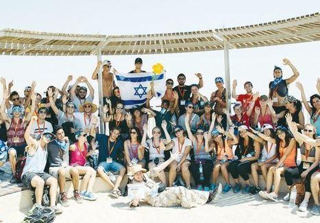 Birthright invades Tel Aviv for Sweet 16 | Jewish Education Around the World | Scoop.it