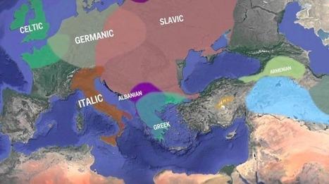 Cette carte animée nous montre l'évolution des langues indo-européennes au cours des 8000 dernières années - SciencePost | Aux origines | Scoop.it