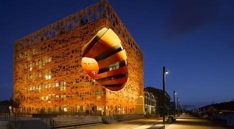 #022 ❘ Le « Cube orange » de Lyon ❘ Agence JAKOB + MACFARLANE Architectes ❘ 2010   # HISTOIRE DES ARTS - UN JOUR, UNE OEUVRE - 2013   Scoop.it