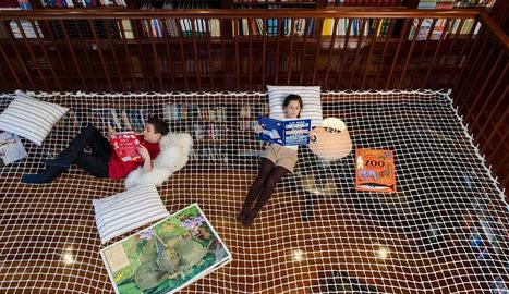 Um espaço para leitura como você nunca viu   Litteris   Scoop.it