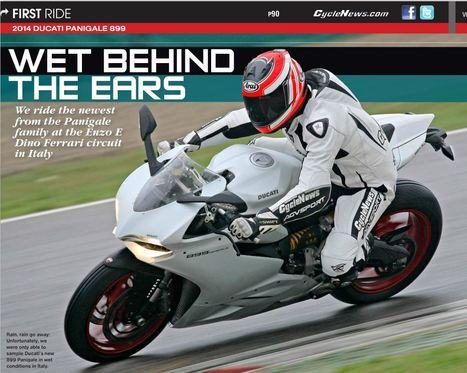 Wet Behind The Ears - 2014 Ducati Panigale 899 First Ride | Ductalk Ducati News | Scoop.it