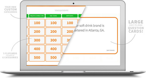 FlipQuiz | Gameshow-style Quiz Boards for Educators | Web2.0 et langues | Scoop.it