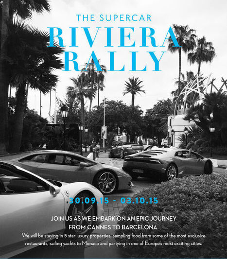 Winged BootsThe Supercar Riviera Rally: High-Class City Hopping | Travel | Scoop.it