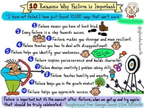 10 Reasons Why Failure is Important - Thanks to the #Awesome @SylviaDuckworth | iPads, MakerEd and More  in Education | Scoop.it
