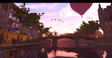 Welcome to Hypnatia, The World's First Fully Explorable Virtual Reality City | Vrlab.fr | Scoop.it