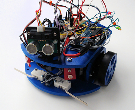 8 Arduino Robots You Can Build for Less than $125 | Computer Science in Middle and High Schools | Scoop.it