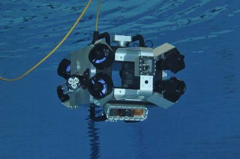 Arduino Blog – Scubo is an omnidirectional robot for underwater exploration | Heron | Scoop.it
