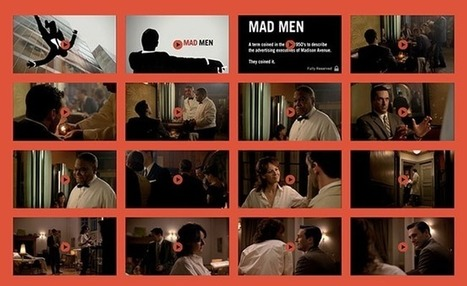Mad Men Chops Its Pilot Episode Into 154 Clips and Wants Fans to Reshoot Each One | Transmedia: digital storytelling | Scoop.it