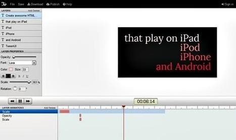 HTML5 Animation, crea banners animados en HTML5 desde Chrome - Lukor | Programacion | Scoop.it