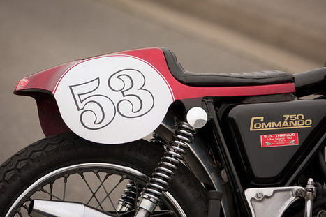 Mais uma bonita história de uma bonita moto, no caso uma Norton Commando de 1973 | Rogermotard | Scoop.it