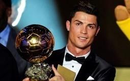 Cristiano Ronaldo Winner FIFA Ballon D'or Free Wallpaper Downloads   Wallmeda - HD Wallpaper   Scoop.it