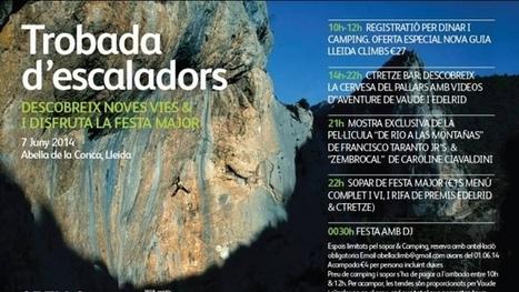 Encuentro de escaladores en Abella de la Conca 2014. Desnivel | FotoVertical, press review | Scoop.it
