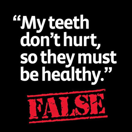 Even if your #teeth don't hurt, you can still have decay or other… | DENTAL TOURISM | Scoop.it
