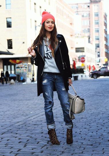 Styling with Boyfriend Jeans! | AMI Clubwear | Scoop.it