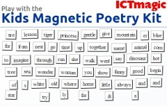 Magnetic Poetry | Learning in a Digital World | Scoop.it
