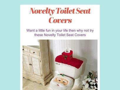Novelty Toilet Seat Covers | Stuff I Like | Scoop.it