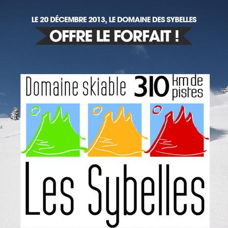 bon plan -Sybelles- Forfait gratuit le 20 décembre 2013 | Stations de ski en Savoie | Scoop.it